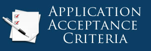 Application Acceptance Criteria